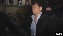 Роман Сущенко во время задержания