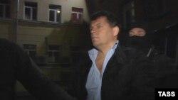 Роман Сущенко під час затримання, фото ФСБ Росії, оприлюднене 3 жовтня 2016 року