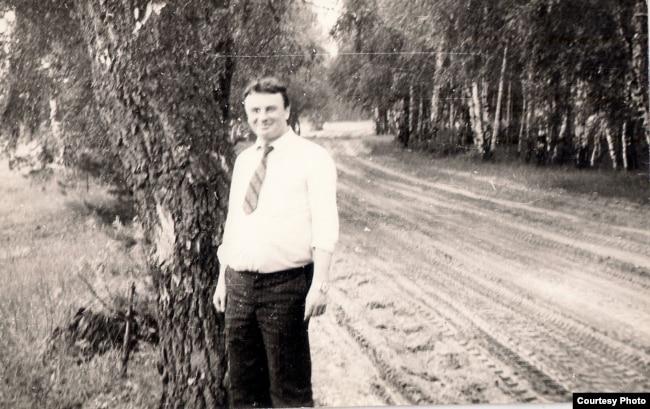 Міхась Стральцоў. 1984 г. З фондаў БДАМЛМ