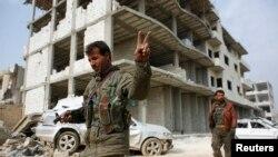 Borci YPG u Kobaneu, Sirija, ilustrativna fotografija