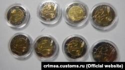 Памятные монеты НБУ на админгранице с Крымом. Пункт пропуска «Армянск»