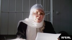 Fauziya Bayramova, chairwoman of the Milli Medjlis, a self-proclaimed pan-Tatar national assembly
