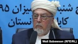 پیر سید احمد گیلانی رئیس شورای عالی صلح
