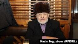 Алматы тұрғыны, этникалық ингуш Илез Осканов. Алматы, 6 қаңтар 2018 жыл