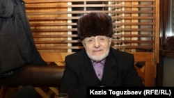 Этнический ингуш Илез Осканов. Алматы, 6 января 2018 года.