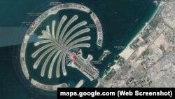"""Dubayda """"Cümeyra palması"""" süni adası"""