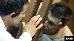 """Подсудимые и адвокаты в Мосгорсуде на """"болотном деле"""""""