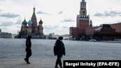 Красная площадь 6 апреля