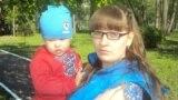 Елена Петрова и ее сын