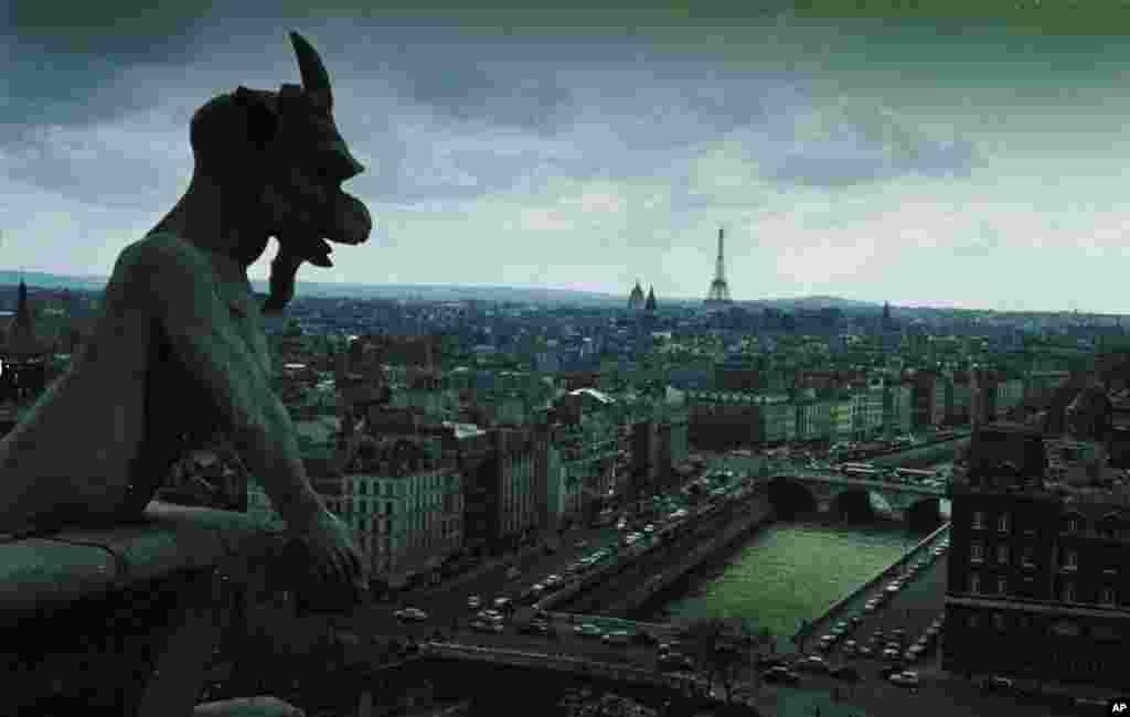 در سال ۱۱۶۰ اسقف پاریس تصمیم گرفت کلیسایی بنا کند، جدیدتر و بسیار بزرگتر از بناهایی که در این محل ساخته شده بودند. ماریس دو سولی عقیده داشت باید کلیسای تازه به سبک «گوتیک» ساخته شود. در آن دوران چندین کلیسای جامع به سبک گوتیک در فرانسه ساخته شده بودند.