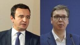 Aljbin Kurti i Aleksandar Vučić
