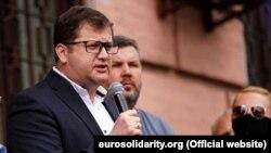 Депутат Верховної Ради із фракції «ЄС» Володимир Ар'єв