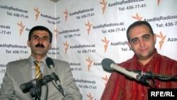 Oktay Gülalıyev (solda)