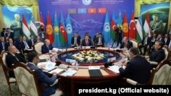Түрк тилдүү мамлекеттер кеңешинин саммити, 3-сентябрь, 2018-жыл.