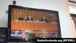 Засідання парламенту, яке більшість проводить на вулиці Банковій