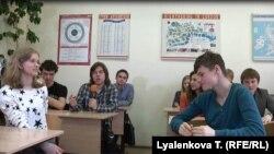Ученики лицея ВШЭ