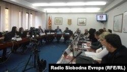 Седница на Совет на Општина Куманово.