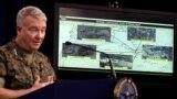 د امریکايي پوځ د مرکزي کمانډ مشر جنرال کېنېت مېکېنزي یوې غونډې ته د وینا پر مهال - د ۲۰۲۰ز کال د مارچ میاشتې انځور.