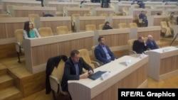 Із 64 на засідання прийшли лише 28 депутатів облради