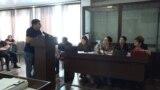 На заседании суда по делу о пытках в МВД Абхазии. Свидетель Виталий Ншанян