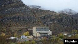 Armenia - A hydroelectric plant in Syunik which is part of the Vorotan Hydro Cascade, 11Nov2013.