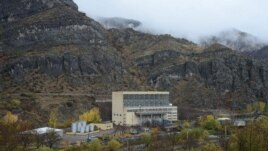 Armenia - A hydroelectric plant in Syunik which is part of the Vorotan Hydro Cascade, 11Nov2013.
