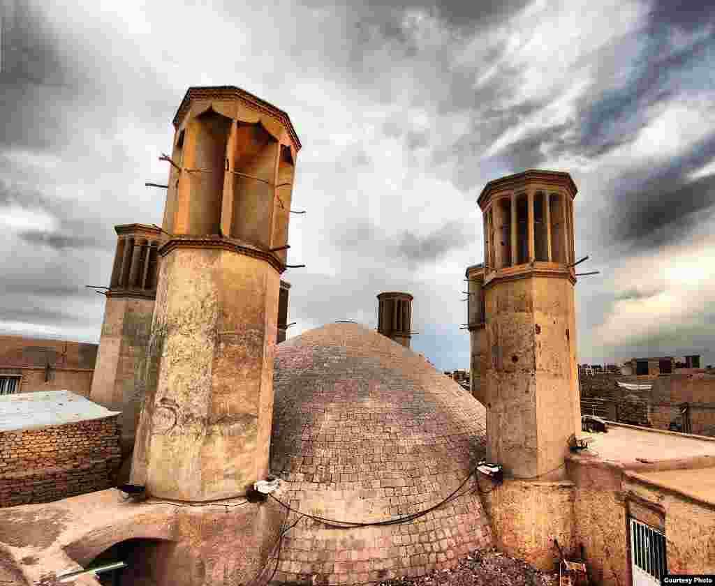 Cistern in Yazd, Iran