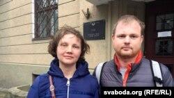 Андрэй Шарэнда з Палінай Шарэндай-Панасюк
