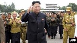 Кім Чен Ин, верховний лідер КНДР