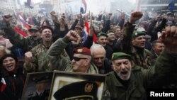 Slavlje na Trgu bana Jelačića u zagrebu