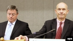 به ابتکار پاسکال لامی، رييس سازمان تجارت جهانی، زمينه تداوم گفت و گوها بر سر اعطای امتيازهای متقابل فراهم آمد.(عکس: EPA)