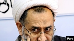 Iranian Intelligence Minister Heydar Moslehi (file photo)