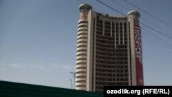 Гостиница «Чорсу» в Ташкенте.