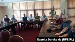 Sa pres-konferencije prosvjetnih radnika, Bihać