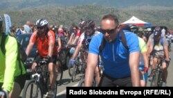 Велосипедската рекреативна тура во Мариово.