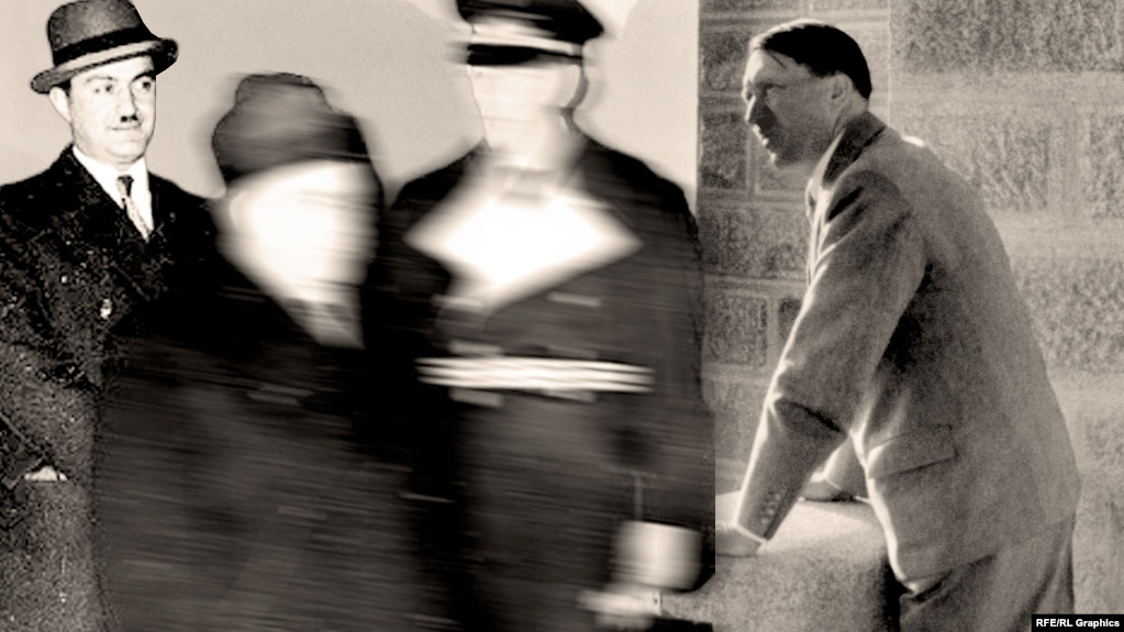 Амаяк Кобулов и Адольф Гитлер, коллаж