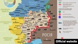 Ситуація в зоні бойових дій на Донбасі, 29 лютого 2016 року