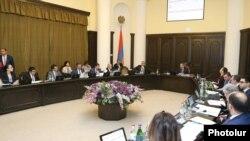 Заседание правительства Армении, Ереван, 27 июня 2019 г.