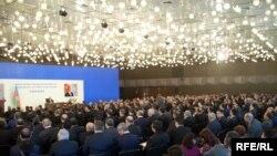 Regionların sosial iqtisadi inkişafı Dövlət Proqramının 5 illik yekunlarına dair konfrans, Bakı, 23 fevral 2009