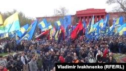 Марш националистов в Киеве. 14 октября 2017