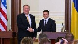 Pompeo Assures Kyiv Of 'Unwavering' Support, Discusses Possible Zelenskiy Visit