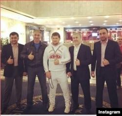Чеченские депутаты и Рамзан Кадыров