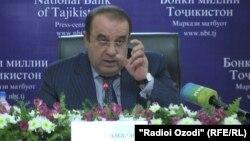 Председатель Национального банка Таджикистана ДжамшедНурмухаммадзода