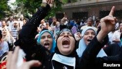 Protesta e sotme që po mbahet në kryeqytetin egjiptian, Kajro