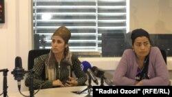 Майрам Содикова и Мастона Зайниддинова
