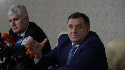 Neposredno nakon što je objavljen ultimatum srpskog entiteta predsjednici vodeće srpske i hrvatske stranke – Milorad Dodik i Dragan Čović – sastali su se u sarajevskom predgrađu Istočno Sarajevo