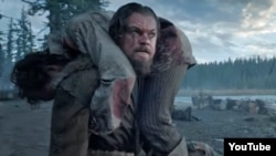 "Leonardo DiCaprio nb filmin ""The Revenant"""