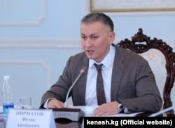 Gyrgyzystanyň parlamentiniň deputaty Ishak Pirmatow