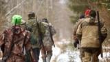 Iarna la vânătoare.