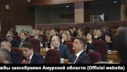 Депутаты заксобрания Амурской области 21 ноября 2018 года